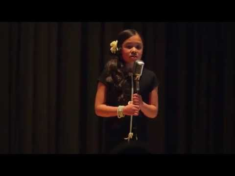 "Viviena Wolfgramm-Sia ""Opportunity"" Cover-10 years old"