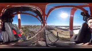 roller coaster vr 360 over 90 km h