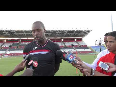 Lawrence speaks on eve of T&T vs Jamaica Friendly in Port of Spain
