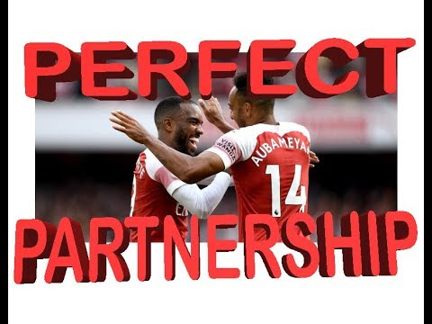Download Aubameyang And Lacazette 18/19 Goals And Magic Moments
