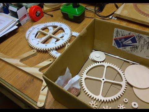 DIY CNC - Genesis Wood Clock Build & Shop Vac Enclosure Mod
