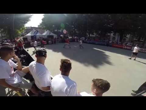 European Street Soccer Finale! 4vs4 Championship 2014 Denmark Vs. The Netherlands