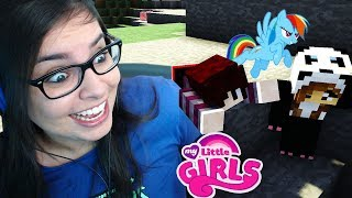 A PANDINHA ME SALVOU! | Minecraft: MY LITTLE GIRLS #03