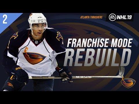 NHL 19: ATLANTA THRASHERS FRANCHISE MODE - SEASON 2