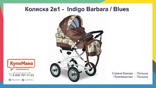 Обзор коляски 2в1 Indigo Barbara ( Blues ) Польша