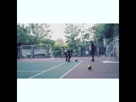 Drake - Crazy Lamp Trick Shot (On Point With His Soccer Skills) [Official Video]