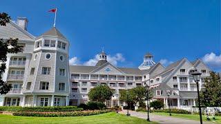 Disney's Yacht Club Resort Walking Tour in 4K | Walt Disney World Orlando Florida September 2020