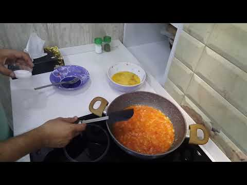 Яичница по Царски. Рецепт. Быстро и вкусно яичница с помидорами