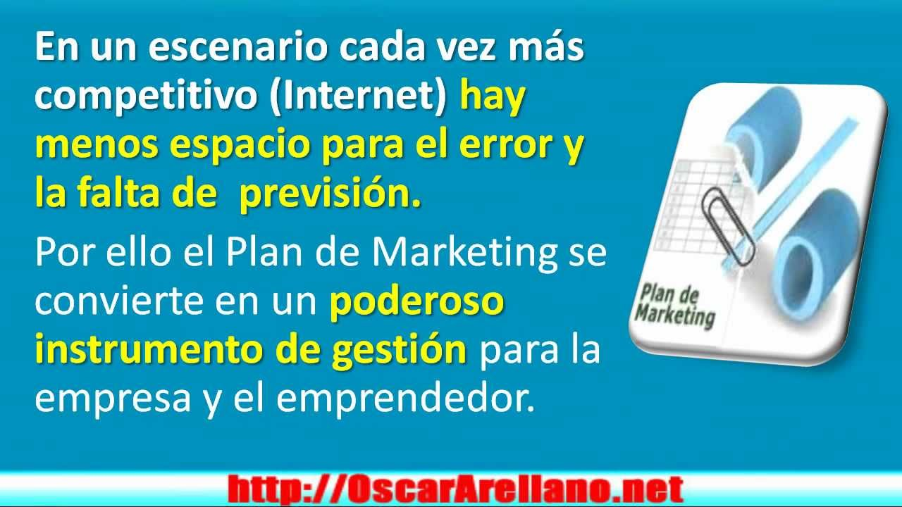 Como Hacer Un Plan De Negocios O Marketing Por Internet