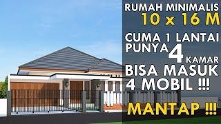 Desain Rumah 4 Kamar Tidur Dan Mushola