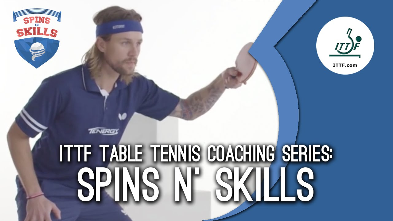 table tennis how to play against spin