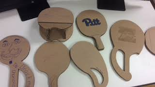North Hills Engineering Cardboard Ping Pong Championship