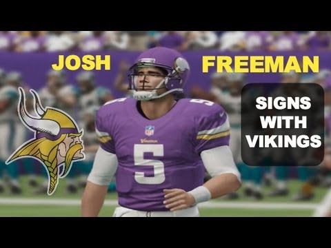 Josh Freeman Signs With Minnesota Vikings (A Viking Fan