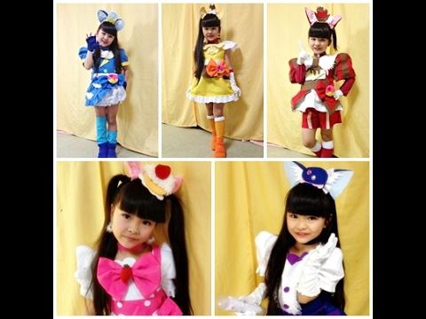 Download 【華月8歳】キラキラ☆プリキュアアラモードED  歌って踊ってみた(全5スタイル手作り衣装で)