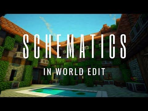 How To Use Schematics With WorldEdit In Minecraft