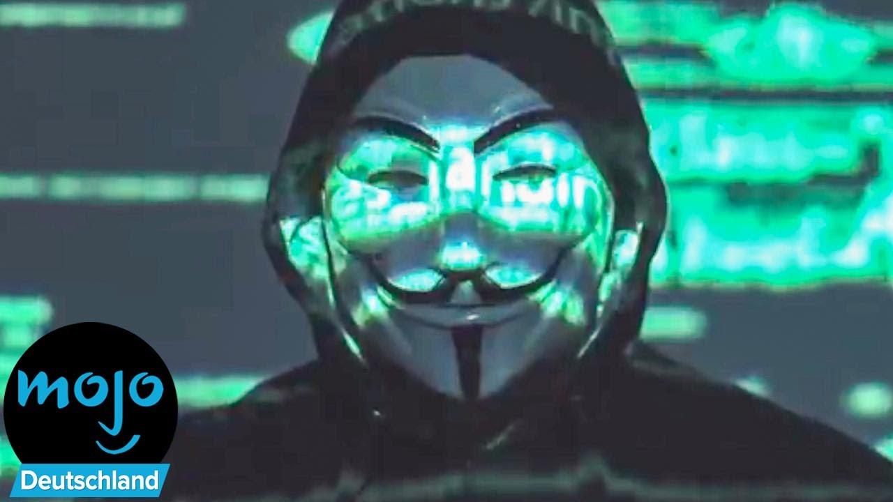 Top 10 berüchtigte Anonymus Hacks