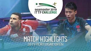 Omar Assar vs Xu Haidong   2019 ITTF Challenge Plus Portugal Open Highlights (R32)
