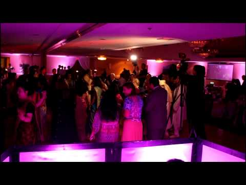 Gujrati Brazilian Wedding  Michigan  DJVic  Up lighting, Monogram, Live streaming Michigan & Ohio