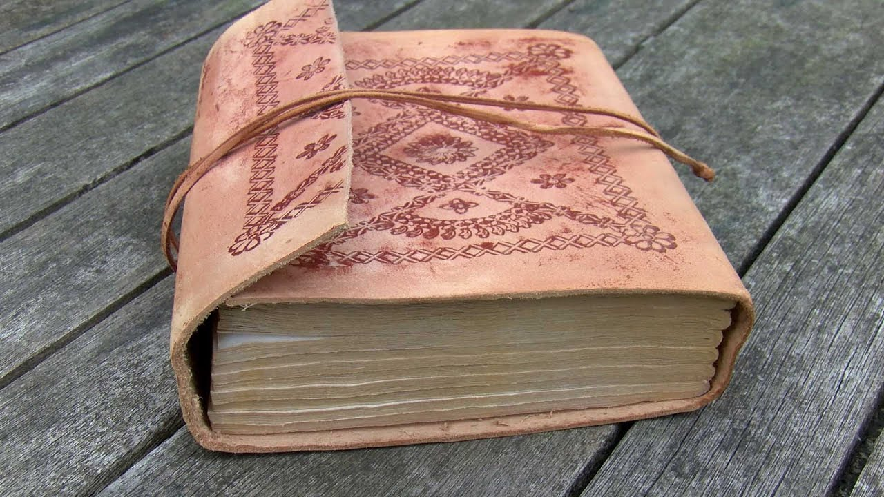 Ageing a Leather bound book