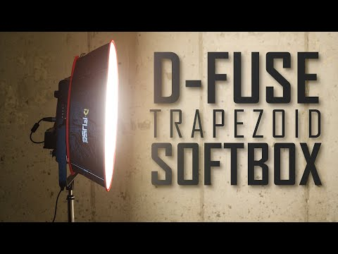 Kamerar D-FUSE Trapezoid Softbox For 1x1 LED Panel Lights