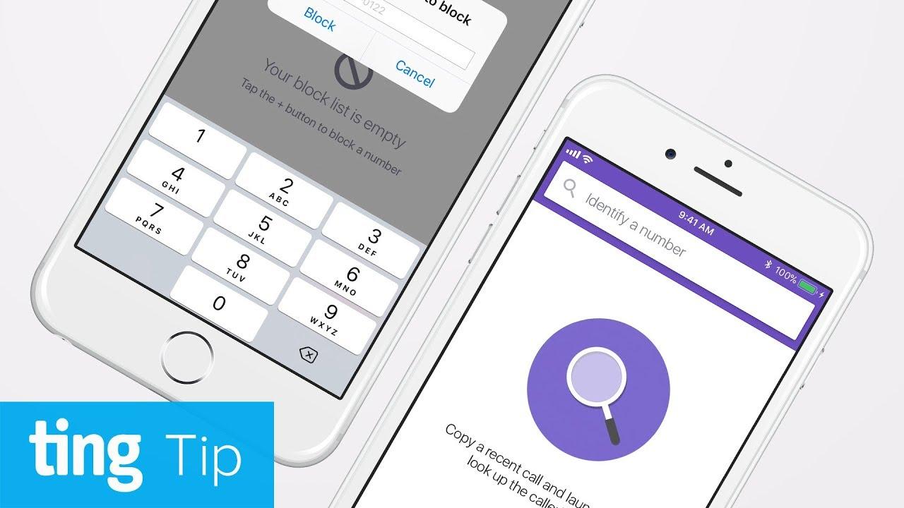 Say Goodbye-a with Hiya (Android and iOS) | Ting Tip