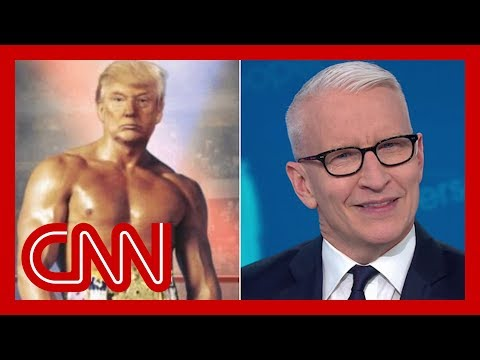 Cooper skewers Trump's photoshopped image of himself