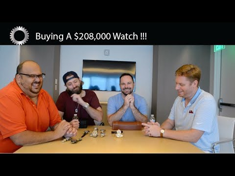 Buying a $208,000 Watch?! - Featuring Properly Wound