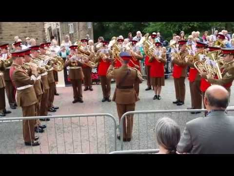 Whit Friday Brass Band Competition, Denshaw, Saddleworth, En