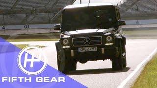 Fifth Gear Mercedes G63 AMG Review смотреть