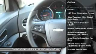 2016 Chevrolet Cruze Oconomowoc WI 16C198