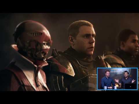 Destiny 2 Trailer Reveal Live Reactions