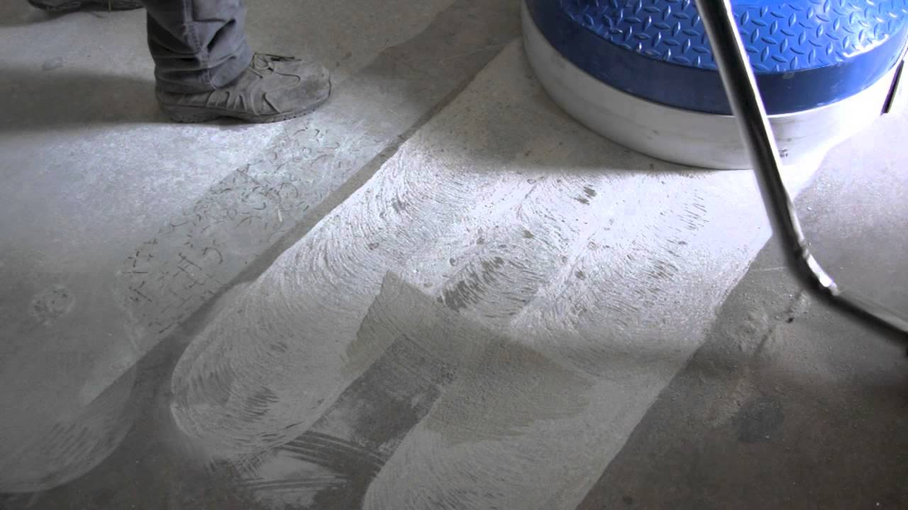 Very Fast Grinding Concrete Floor