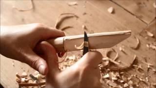 Messer schnitzen