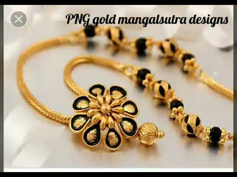 Latest Gold Mangalsutra Designs From Png Youtube