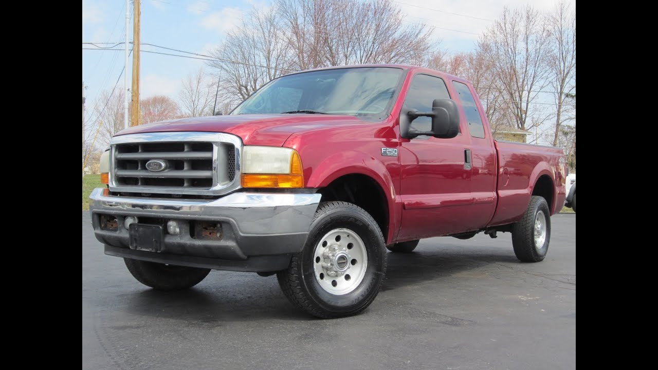 2001 Ford F-250 Xlt 4x4 7 3l Powerstroke 6-speed Longbed Sold