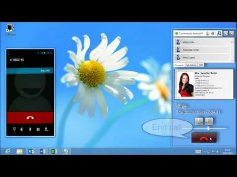 Remote Phone Call - PC dialer for mobile phones
