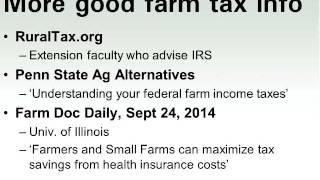 Farm Tax Basics for Beginning Farmers