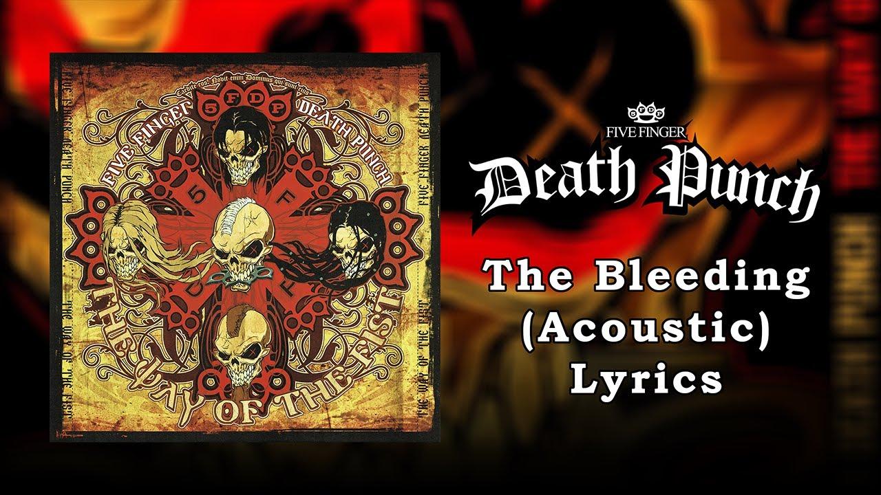 Download Five Finger Death Punch - The Bleeding (Acoustic) (Lyrics Video) (HQ)