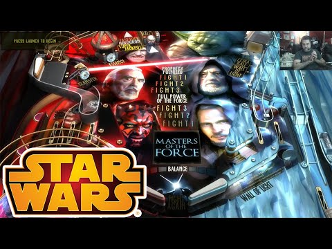 Star Wars Pinball Masters of The Force - Nintendo Switch! Also on Arcade1UP Star Wars Pinball from NolaFam Arcade