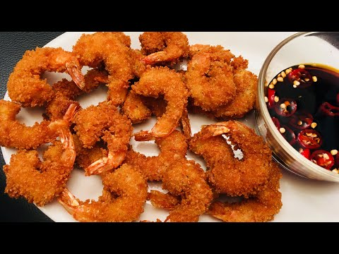 Crispy Golden Prawns Fry   Best Appetizer   Starter   For Guests   Parties
