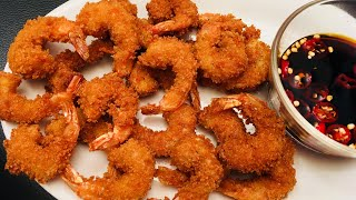 Gambar cover Crispy Golden Prawns Fry | Best Appetizer | Starter | For Guests | Parties