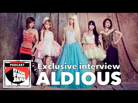 Exclusive interview with Aldious! It Came From Japan podcast #047 / アルディアス英語インタビュー
