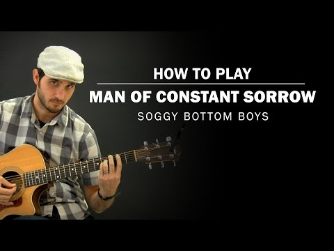 Man Of Constant Sorrow | How To Play | Beginner Guitar Lesson
