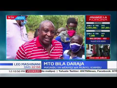 Wenyeji wa Munyu, Kiambu walalamika kuhusu mto usiokuwa na daraja