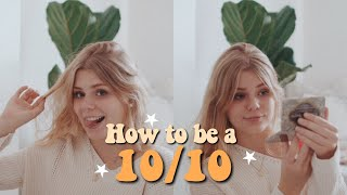 How to look like a 10/10 in school | everyday makeup routine for high school