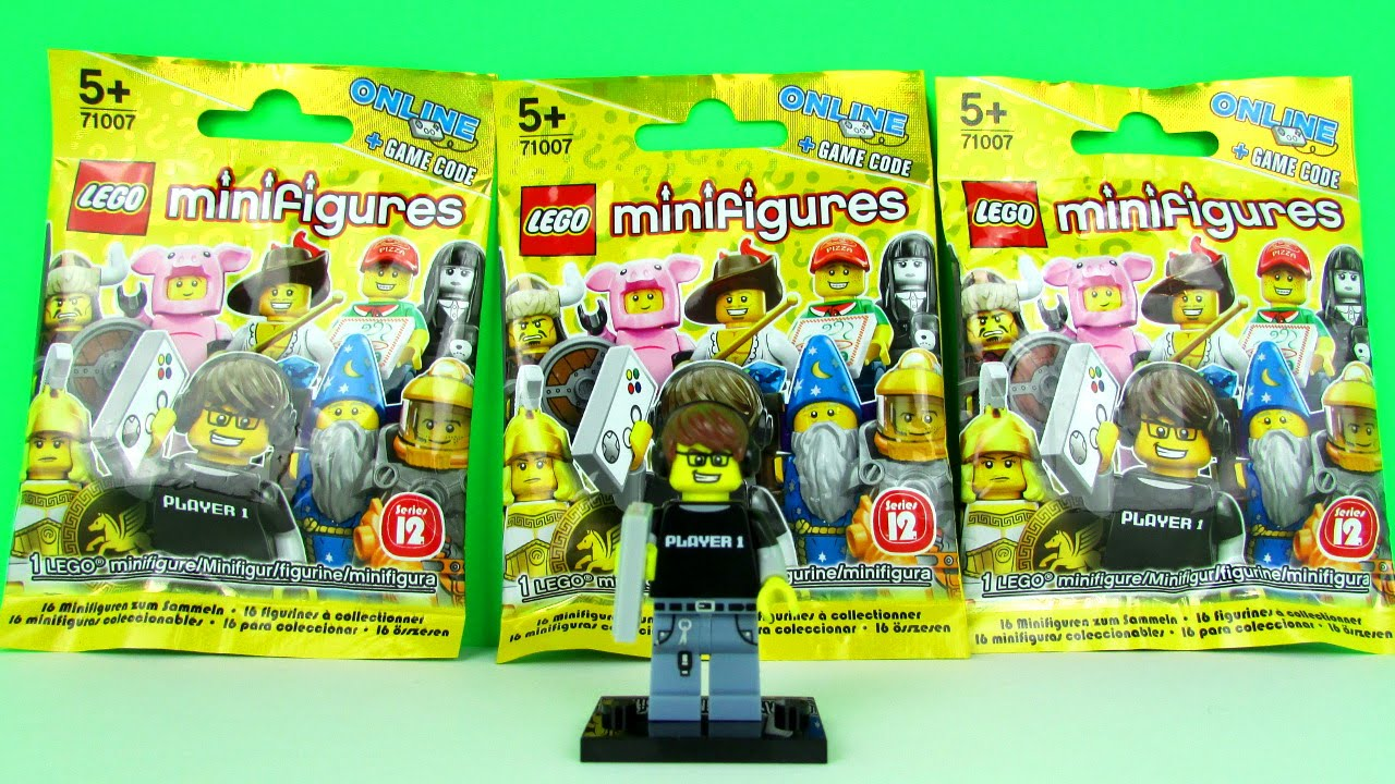 Lego Series 12 Minifigure Blind Bags Opening Amp Toy Review