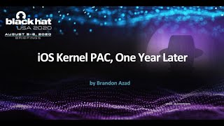 iOS Kernel PAC, One Year Later