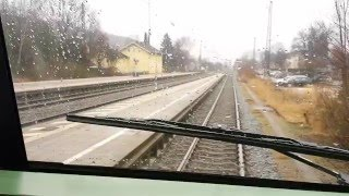 Chiemgaubahn · Pfiff für die verstorbenen Eisenbahner des Zugunglücks von Bad Aibling