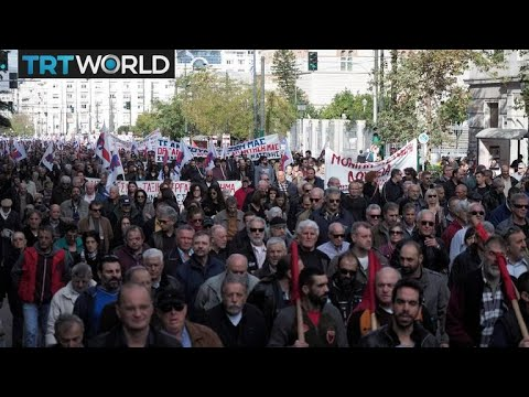 Money Talks: New austerity measures spark protests in Greece