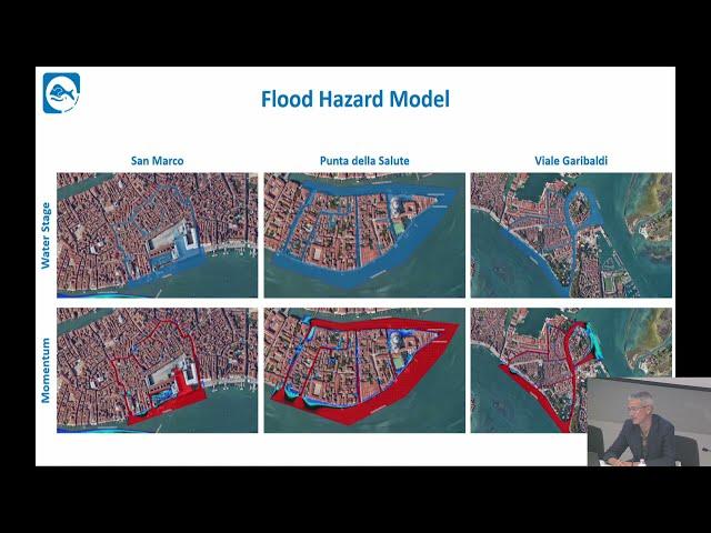 Modello digitale 3D - sistema terra acqua della gronda lagunare - città metropolitana di Venezia